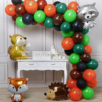 Amazon.com: PartyWoo suministros para fiestas temáticas, 60 ...