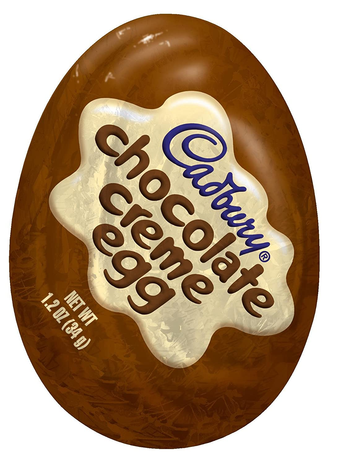 Amazon.com : Cadbury Easter Chocolate Creme Egg, 4-Count, 4.8 oz ...