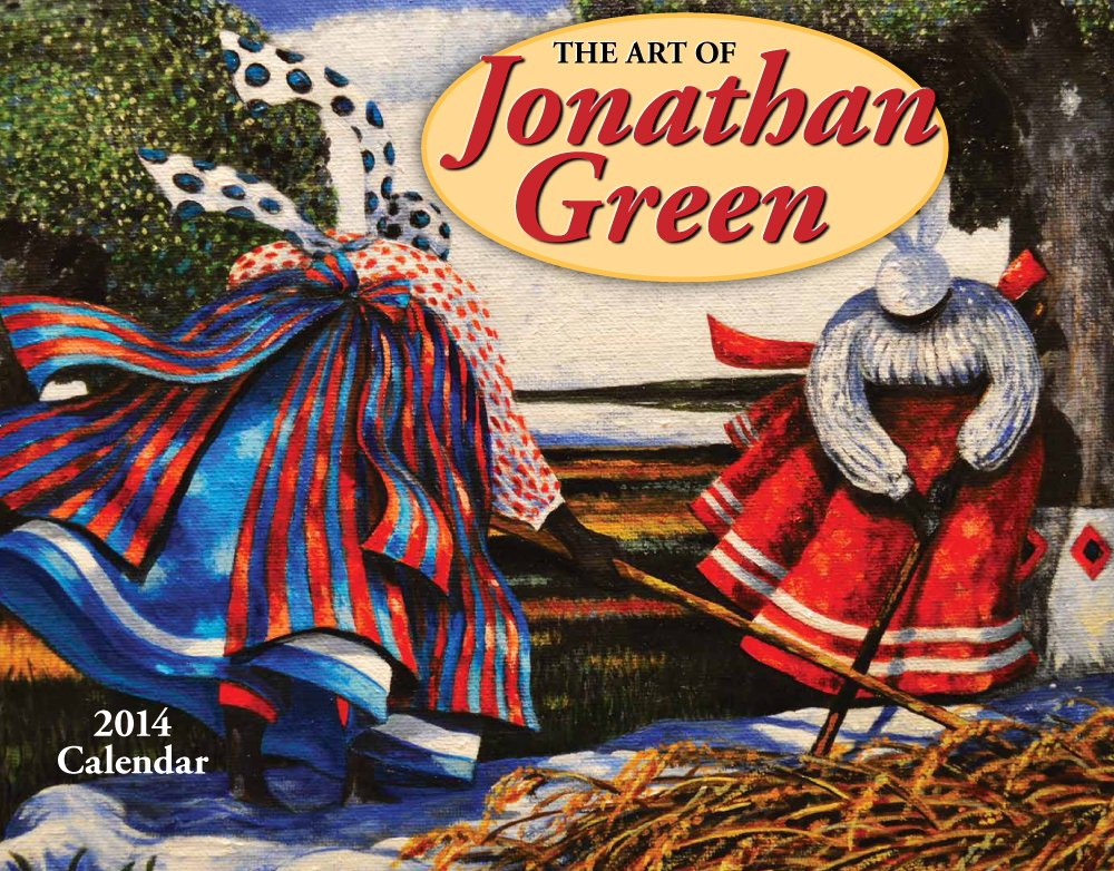the art of jonathan green 2013 calendar