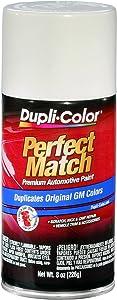 Dupli-Color EBGM01387 Dover/Arctic White General Motors Exact-Match Automotive Paint - 8 oz. Aerosol.