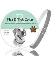 Rmolitty Flea Tick Collars for Dogs, 8 Month Protection with Natural Essential Oil for Large Medium Small Dog