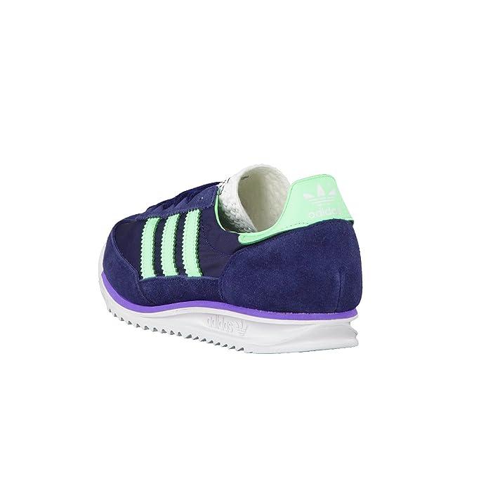 Zapatillas adidas – Sl 72 Azul Navy/Verde/Morado 40 2/3 MvSJW