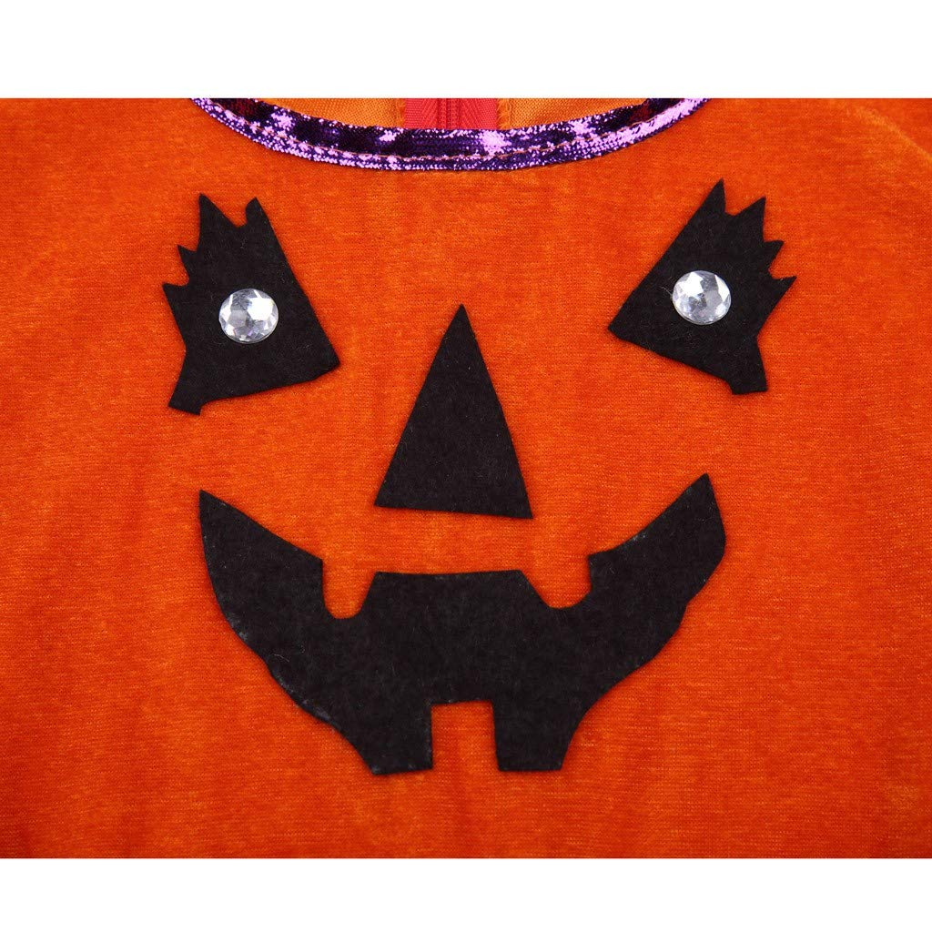 Gorra Vectry Vestido Ni/ña Disfraz Ni/ña Beb/é Ni/ña Halloween Calabaza Tul Vestido Bolsas Trajes Traje Tut/ú Princesa Vestido Ropa Bebe Ni/ña Invierno Vestidos
