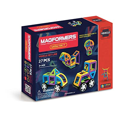 Magformers Vehicle Wow Set (27-pieces): Toys & Games