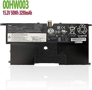efohana SB10F46441 Laptop Battery Replacement for Lenovo ThinkPad X1 Carbon 2nd Gen 2014 Version Carbon 3rd Gen 2015 2016 Version Series Notebook 00HW003 SB10F46440 00HW002 15.2V 50Wh 3290mAh