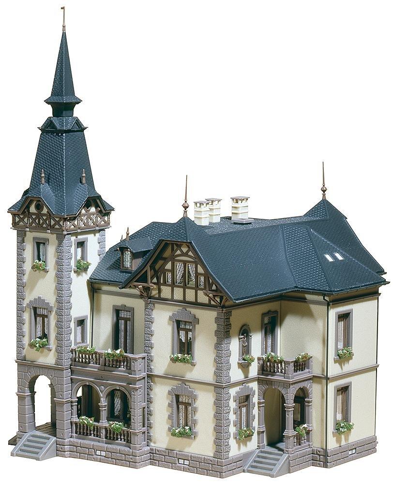 Faller 130364 Villa 2-Storey Old HO Scale Building Kit