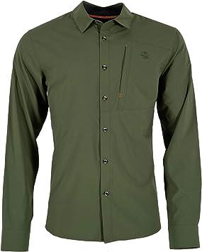 Ternua Terpuk Long Sleeve Camisa, Hombre, Deep Forest, L: Amazon.es: Ropa y accesorios