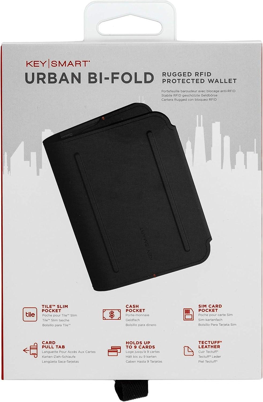 KeySmart Urban Bi-Fold Wallet