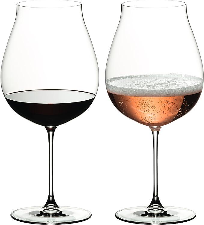 RIEDEL 6449/67 Veritas New World Pinot Noir/Nebbiolo/ROSÉ Champagner (Estuche de 2 Copas): Amazon.es: Hogar