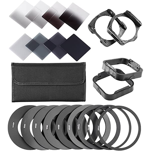 Wide Angle Square Filter Holder Push On Lens Filter Frame ABS for Cokin P