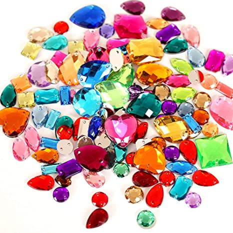 HALLOWEEN Mix//Set of Gems Diamantes Rhinestones Crystals Craft Embellishments