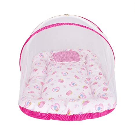 fd681ba50 Image Unavailable. Image not available for. Colour  Zura s Baby bed   baby  bedding set with Mosquito Net Bed for New Born Babies