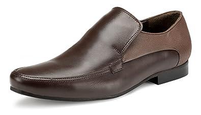 d8f2abd3367e5 Amazon.com   Escaro New York Genuine Napa Leather Formal Slip-On ...