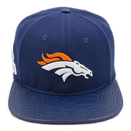Image Unavailable. Image not available for. Color  Pro Standard Men s NFL  Denver Broncos Logo Buckle Hat ... 8e6cb4bbd7dd