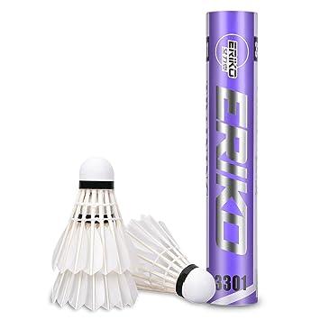 0e708e1c10830 Volants de plume d'oie avancés, volants de badminton d'ance pour la ...