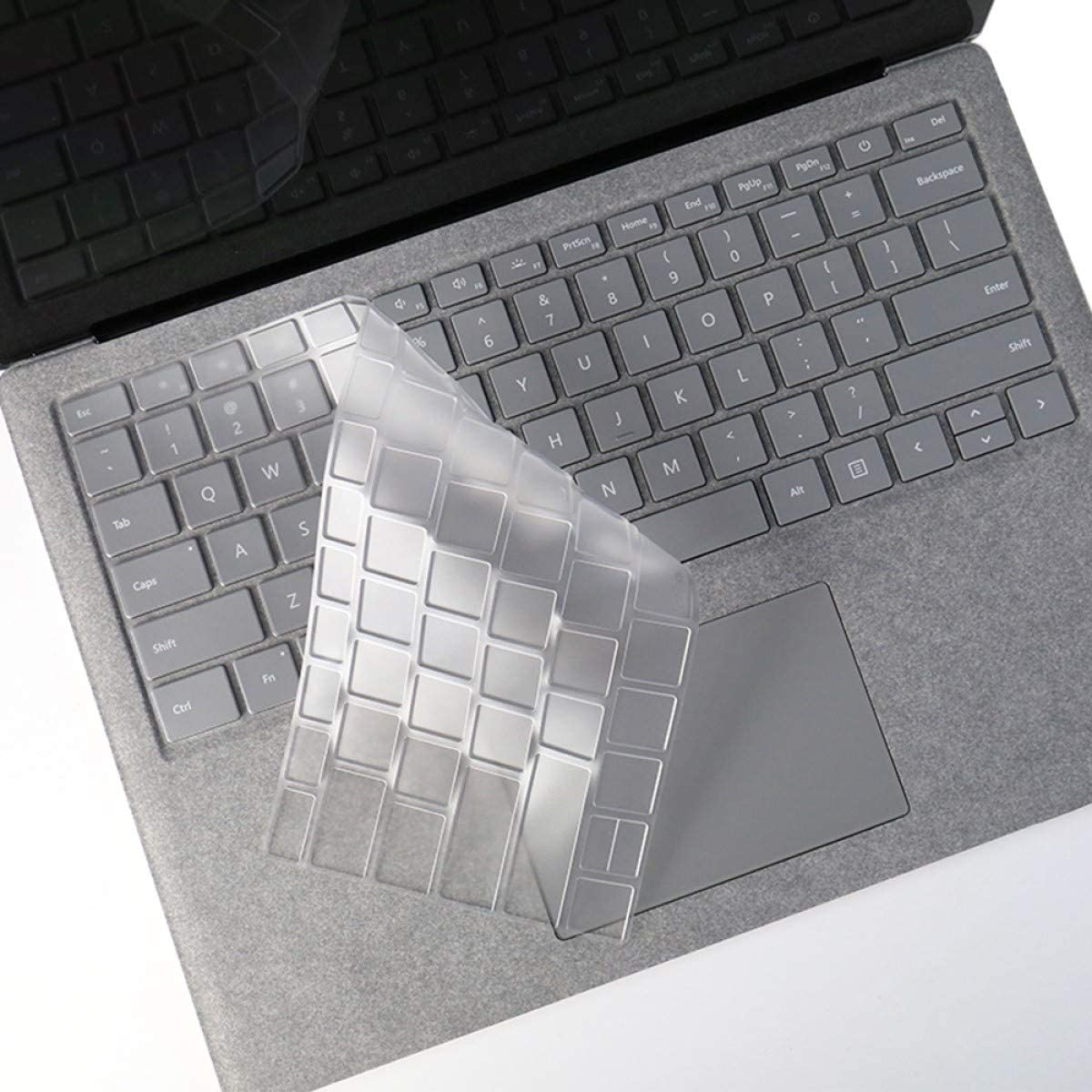 """FORITO Keyboard Cover Compatible with 2020 2019 Surface Laptop 3/2018 Released Surface Book 2/ Microsoft Surface Laptop (2017) & Surface Book 2 13.5"""" and 15""""(NOT Fit for Surface Pro 2017) -TPU"""