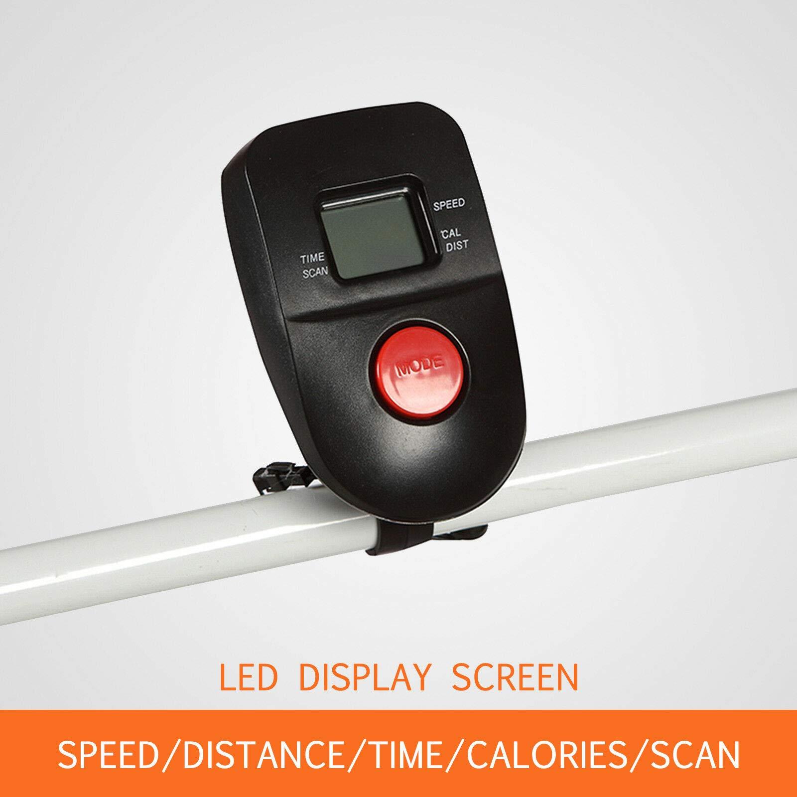 HappyShopShop Folding Adjustable Manual Treadmill Run Running Walk Walking Machine Cardio Exercise by HappyShopShop (Image #4)
