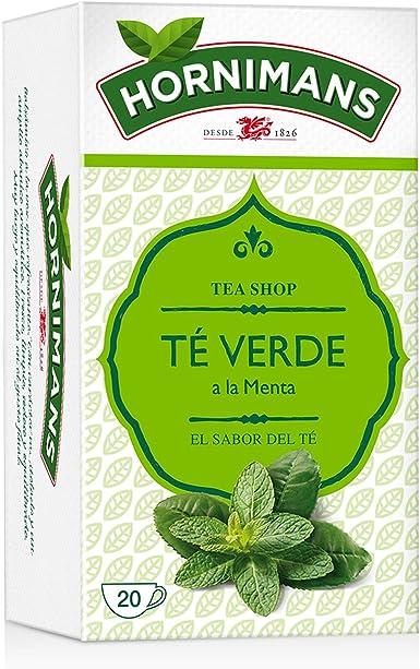 Hornimans Té Verde Bolsitas De Té A La Menta - Pack de 20 x 1,5 g ...