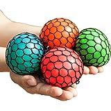 Mesh Squishy Ball Squeeze Grape Ball Relieve Pressure Ball 2PCS