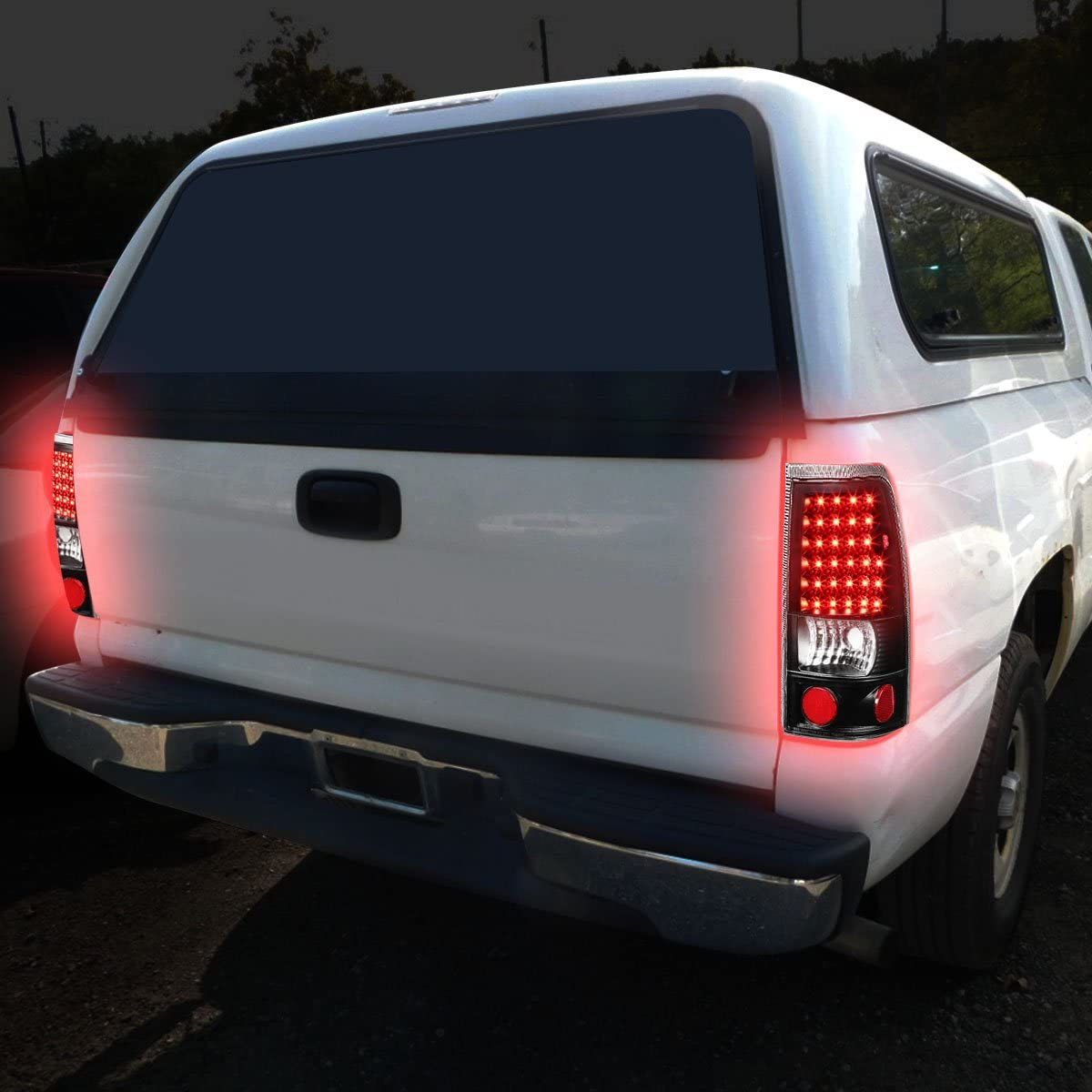 Driver and Passenger Side,Chrome Clear DNA Motoring TL-CSIL99-LED-CH-CL Tail Light Assembly