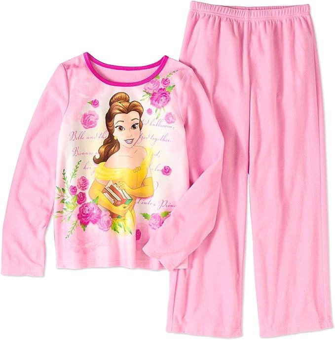 Girls Princess PJ Fleece Pyjama Set