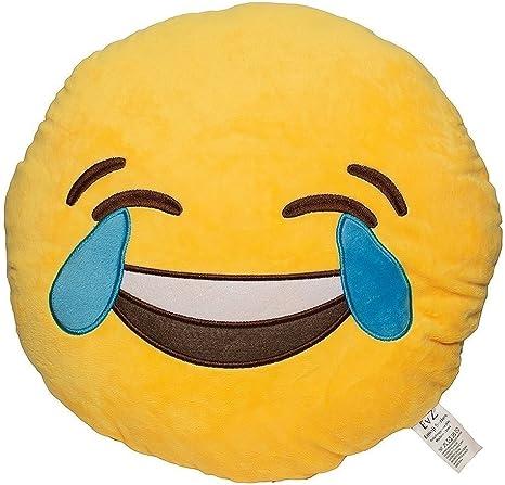 "Emoji Soft 13/"" Pillow Cushion Monkey Soft Toy Plush Stuffed Cuddly Bedroom Toy"