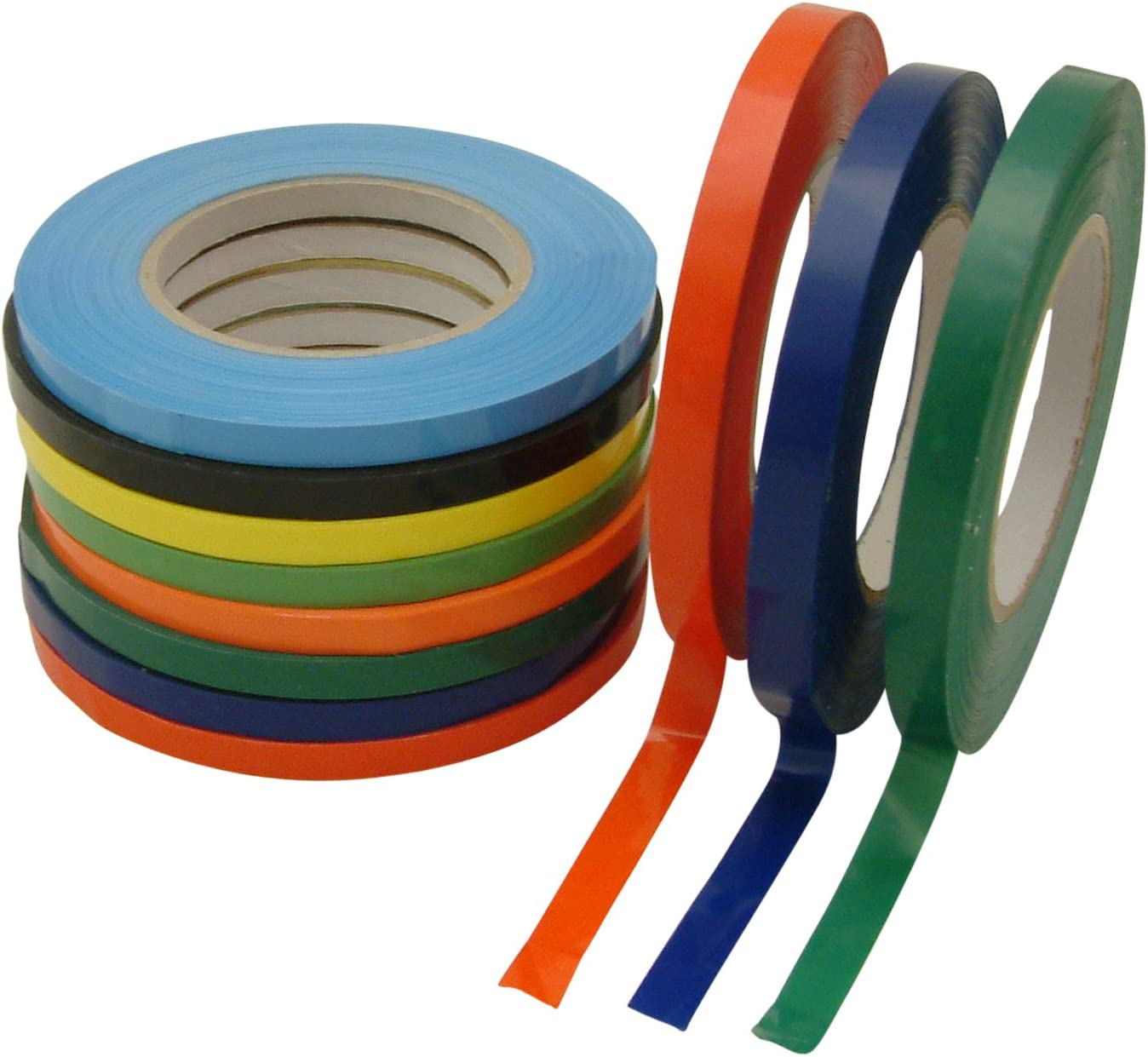 Converting BST-24//RD05180 JVCC BST-24 Bag Sealing Tape J.V Red 1//2 x 180 yd