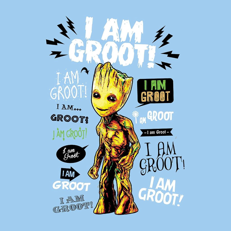 Guardians Of the Galaxy I Am Groot Quotes Women's Hooded Sweatshirt:  Amazon.de: Bekleidung