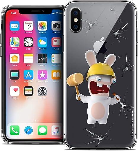 4.7 Caseink Coque pour Apple iPhone 8 Design in Control The Lapins Cr/étins/® Collection Officielle Antichoc arri/ère - Souple - Ultra Fin - Imprim/é en France