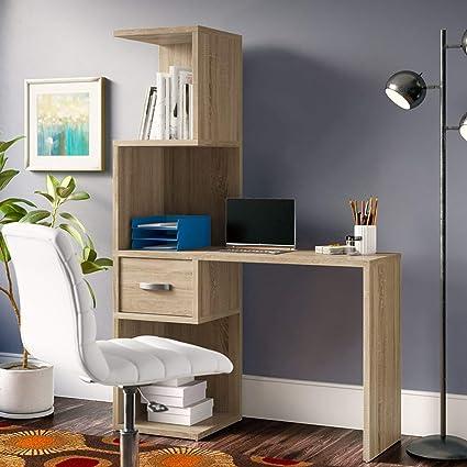 Strange Amazon Com Computer Desk With Hutch Contemporary Writing Home Interior And Landscaping Ponolsignezvosmurscom