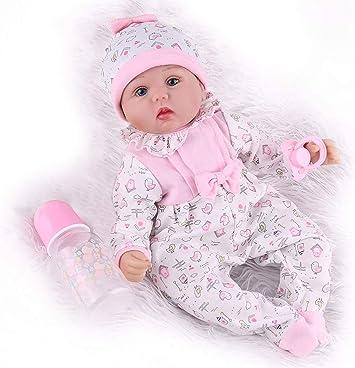 Kaydora Reborn Baby Doll Girl In Pink Pajamas, 16