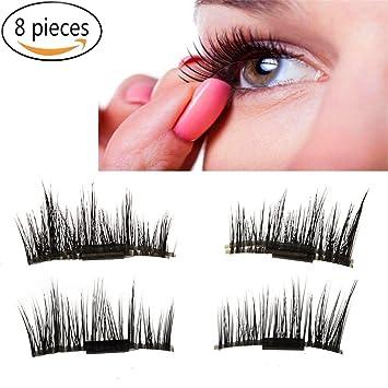 Amazon.com : New Magnetic False Eyelashes - £¨8 Pieces£Ultra Thin