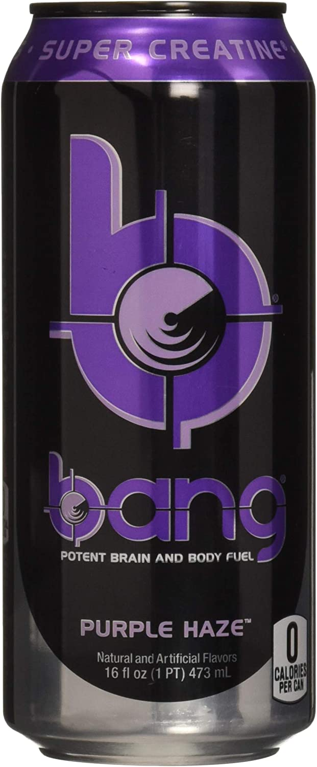 Vpx Bang Rtd, Purple Haze, 16 Fl. Oz (12 Count)