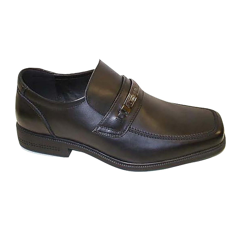 Macadam - Zapatos de Cuero Modelo Bournemouth para niños (37 EU/Negro): Amazon.es: Zapatos y complementos
