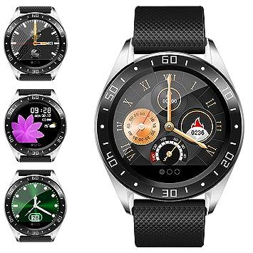 jpantech Smartwatch, Reloj Inteligente Impermeable IP67 Pulsera de Actividad Inteligente con Monitor de Sueño Pulsómetros Podómetro Contador, para ...