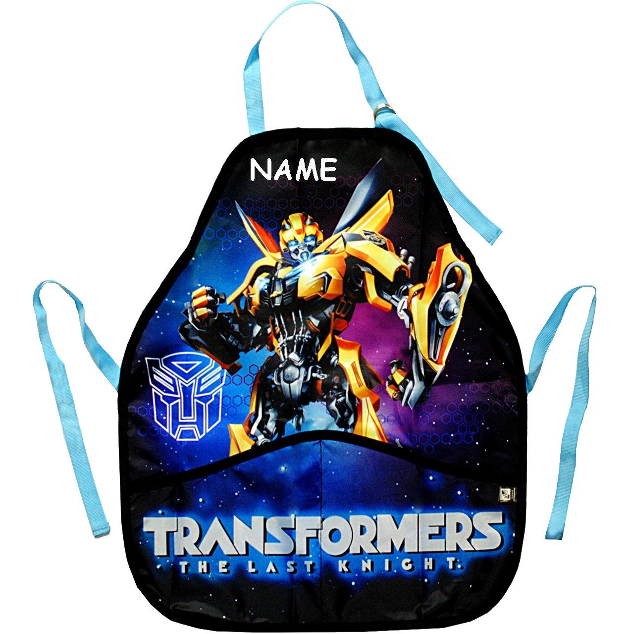 alles-meine GmbH Kinderschürze - Transformers - Bumblebee / Roboter - The Last Knight - Ink..