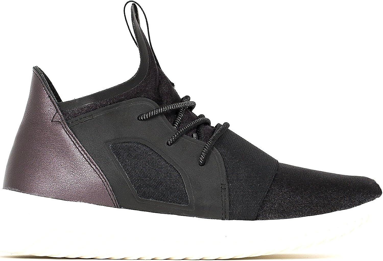 Respecto a anchura viernes  Amazon.com   adidas Tubular Defiant W Black/Black-White   Fashion Sneakers