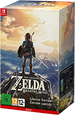 The Legend of Zelda: Breath of the Wild - Limited - Nintendo Switch [Importación italiana]: Amazon.es: Videojuegos