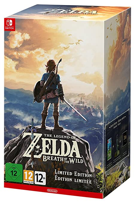 32 opinioni per The Legend of Zelda: Breath of the Wild- Limited- Nintendo Switch