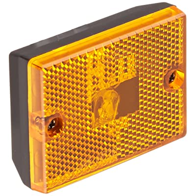 Grote 46983-5 Yellow Rectangular Submersible Clearance Marker Light with Built-In Reflector (Replacement Part): Automotive