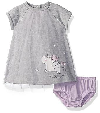 abe014d4092f Amazon.com: Gymboree Baby Girls Rainbow Tulle Unicorn Dress: Clothing