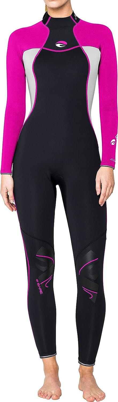 dc8fef2089 Amazon.com  Bare 3 2mm Women s Nixie Full Suit  Sports   Outdoors
