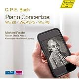 C.P.E. Bach : Concertos pour piano, vol. 3. Rische, Klaas.