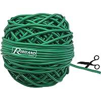 Ribimex PRLIENGO060 binddraad PVC 3 mm in 600 g kluwen, groen