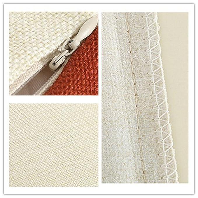 Fundas de almohada alfabeto Inglés amor patrón algodón lino cuadrado ...