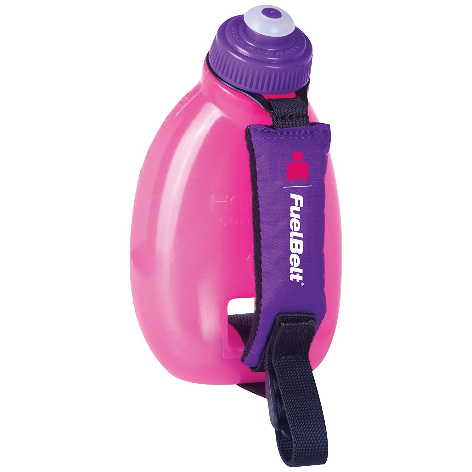FueltBelt Hydration Accessory FuelBelt Ironman Helium Sprint Palm Holder 10oz, Pink/Purple, One Size, 60432#0014941