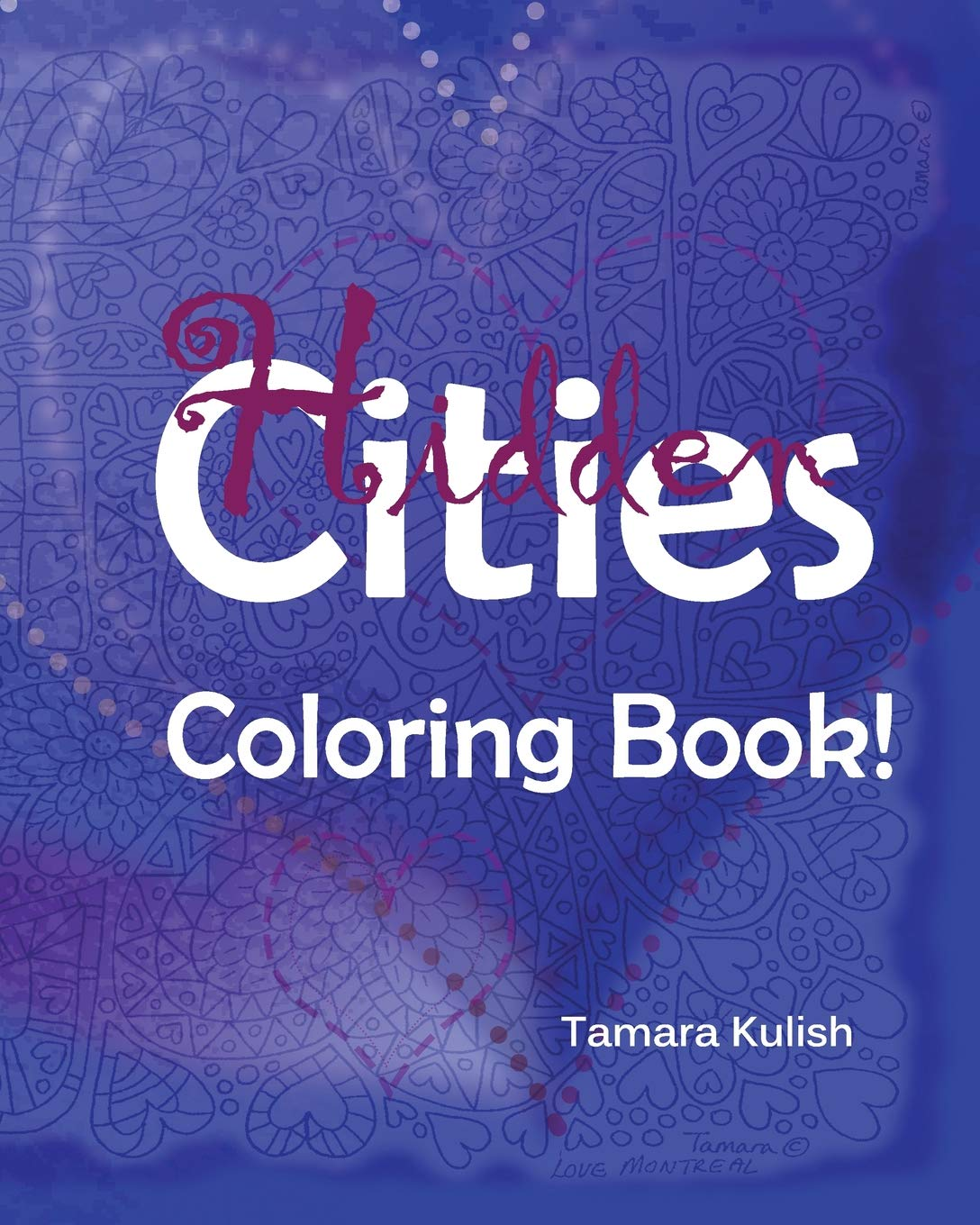 Download Hidden Cities Coloring Book: Hidden words for creative coloring! pdf epub