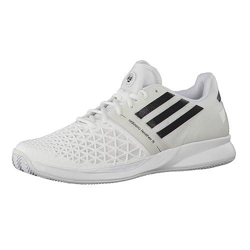 adidas CC Adizero Feather Zapatillas de Tenis para Mujer, Hombre, Blanco: Amazon.es: Deportes y aire libre