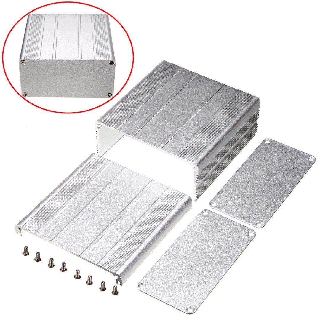 Cheap Extruded Aluminum Enclosure Case Diy Electronic Project Pcb Computer Hard Drive Circuit Board Ipad Mini Cover Zazzle Instrument Box 100x100x50mm