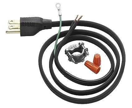 insinkerator crd 00 power cord kit garbage disposals amazon com rh amazon com Dishwasher Wiring Code Dishwasher Wiring Code